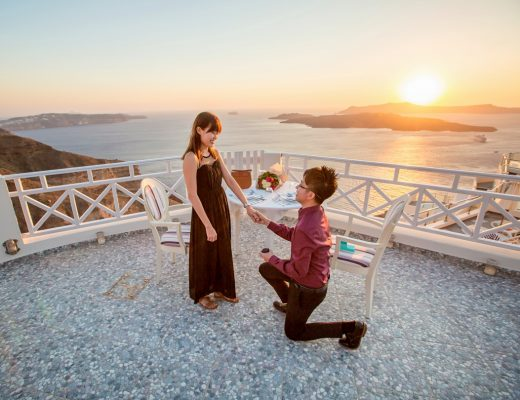 Surprise Proposal in Santorini | joanne-khoo.com