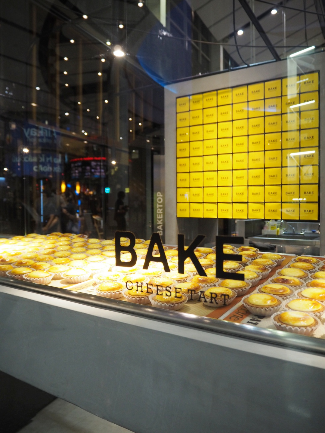 Bangkok Central World BAKE Cheese Tart | joanne-khoo.com