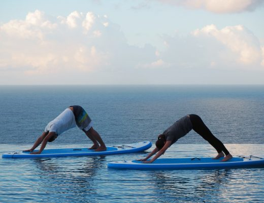 Stand Up Paddle Board Yoga | joanne-khoo.com