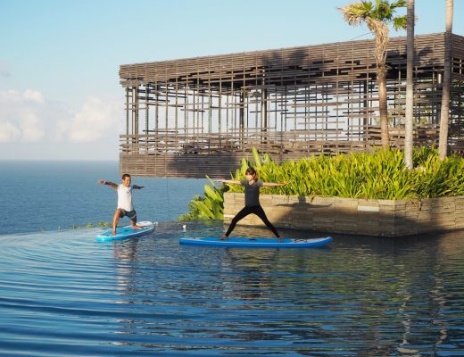 Stand Up Paddleboard Yoga | joanne-khoo.com