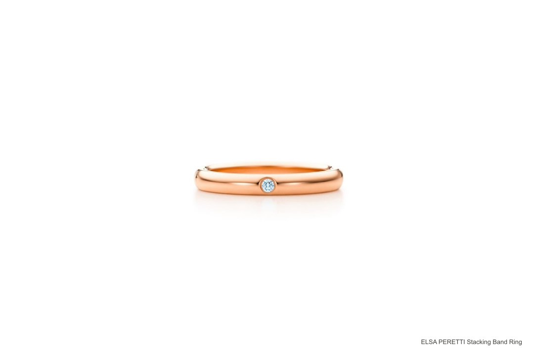 ELSA PERETTI Stacking Band Ring | joanne-khoo.com