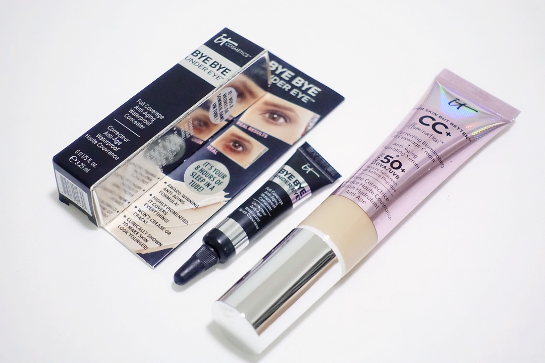 IT Cosmetics Bye Bye Under Eye Anti-Aging Concealer | joanne-khoo.com