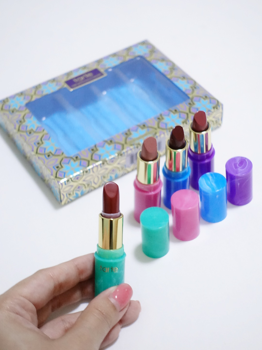 Tarte Mermaid Kisses Lip Set | joanne-khoo.com