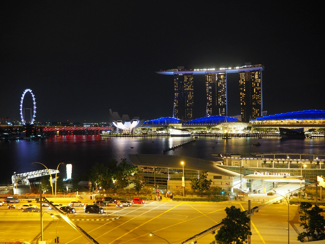 Night View of Marina Bay Waterfront | joanne-khoo.com