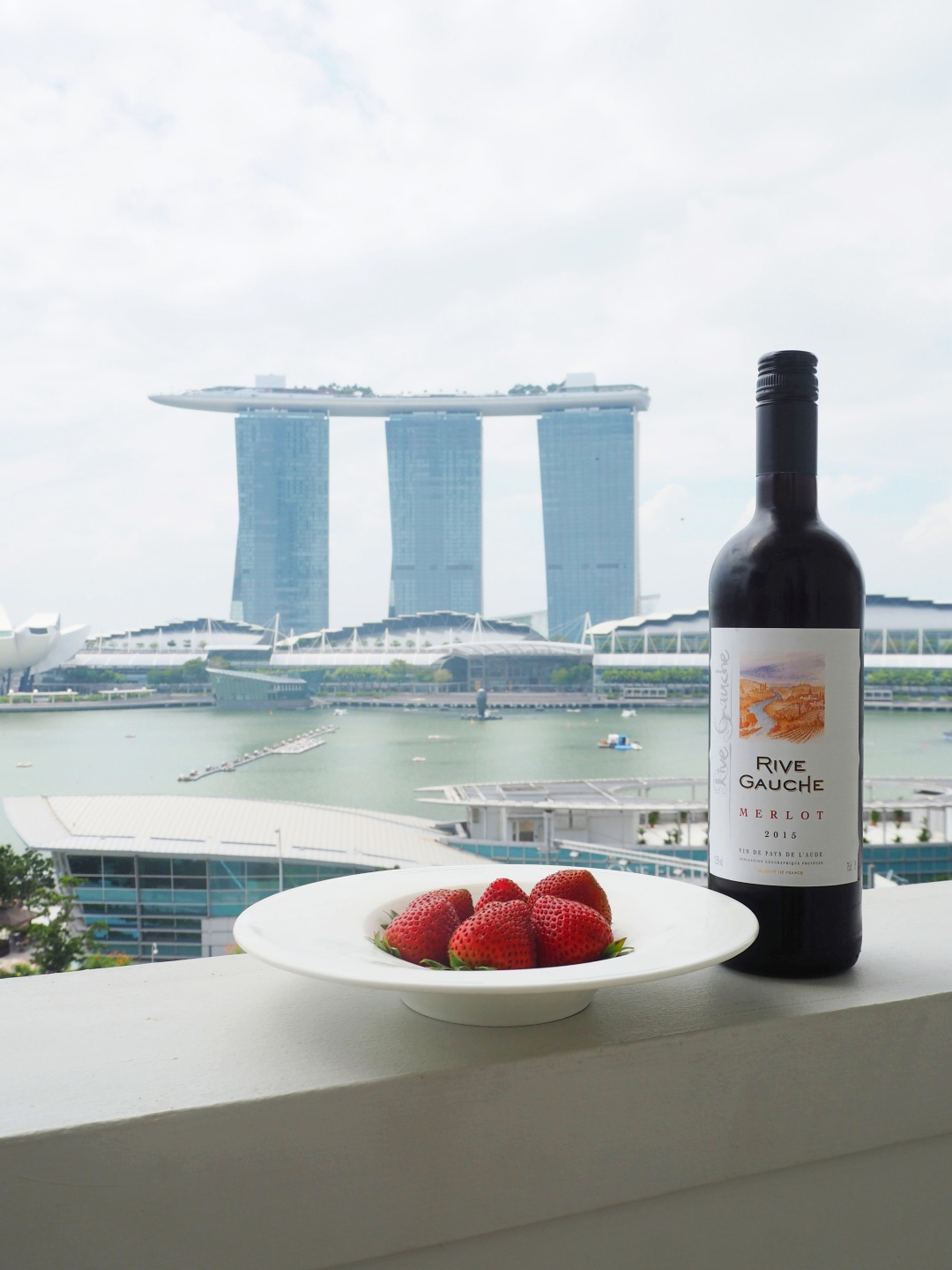 Red Wine & Strawberries | joanne-khoo.com