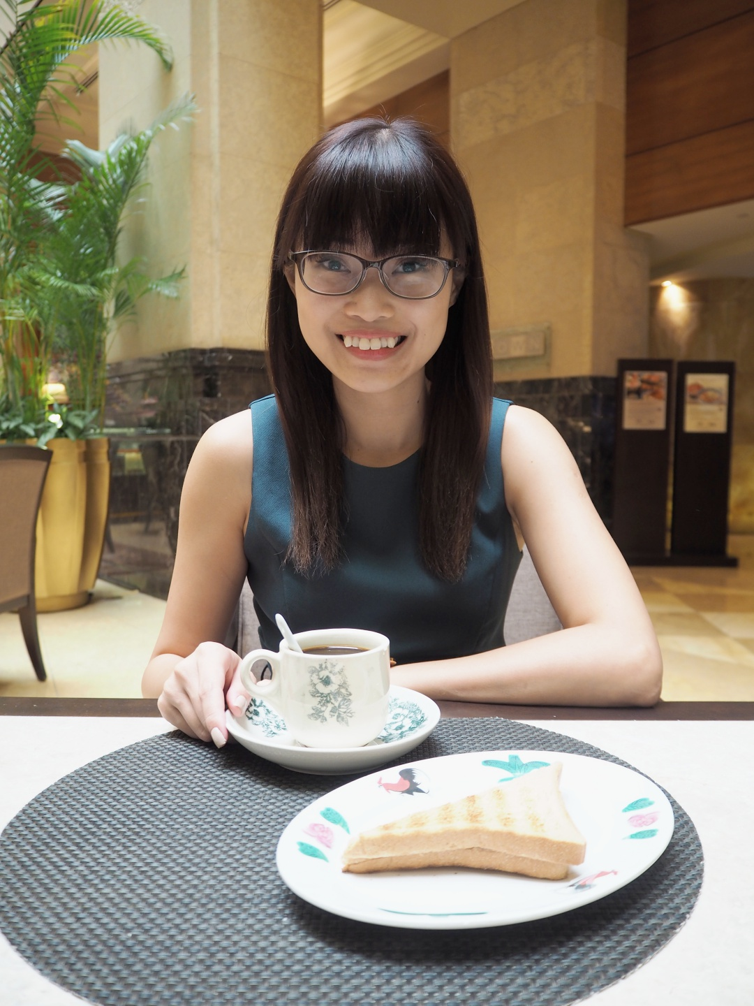 The Fullerton Hotel Singapore Breakfast | joanne-khoo.com