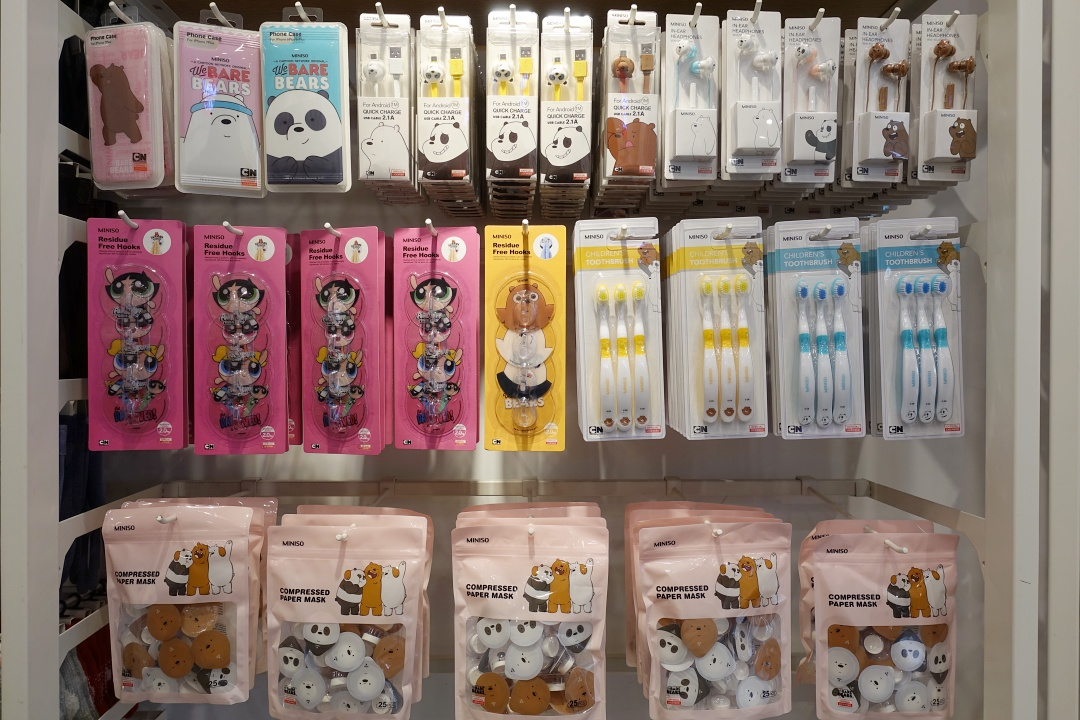Taiwan Miniso We Bare Bears | joanne-khoo.com