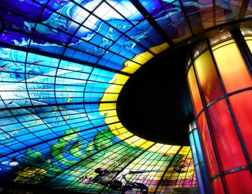 Glass Installation at Formosa Boulevard Station | joanne-khoo.com