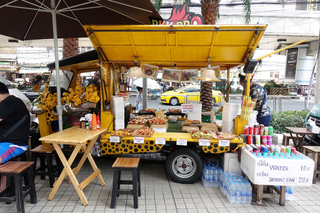 2018 Bangkok The Platinum Fashion Mall - Food Cart | joanne-khoo.com
