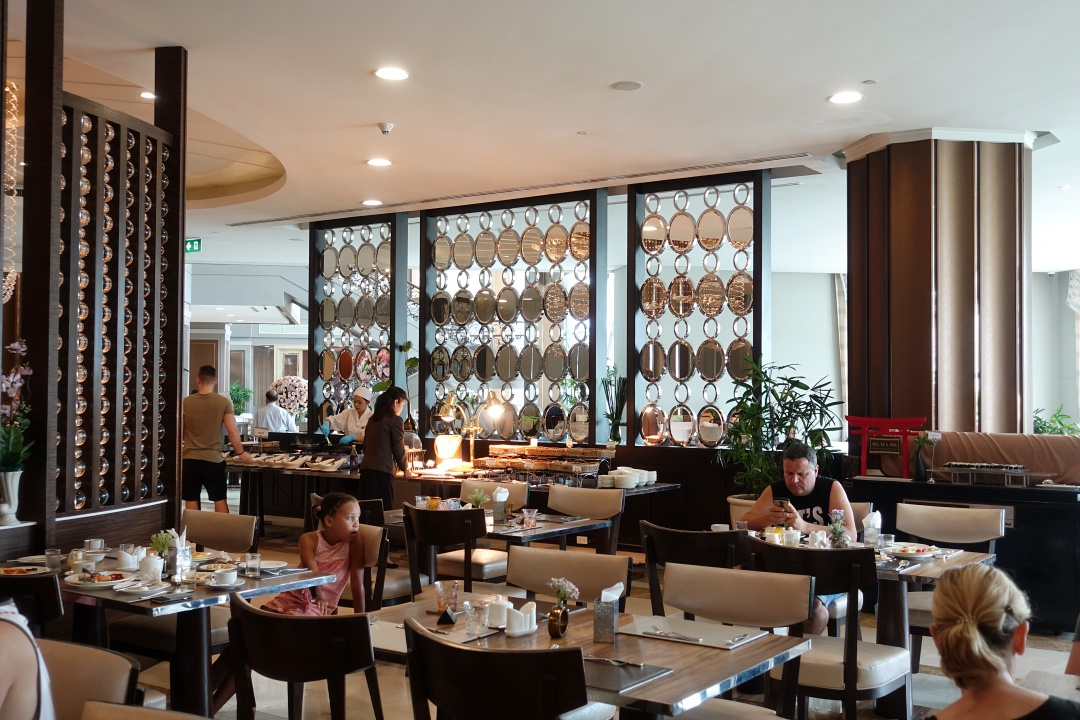 2018 Bangkok The Berkeley Hotel Pratunam - Breakfast | joanne-khoo.com