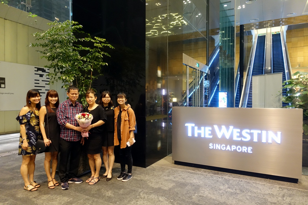 The Westin Hotel Singapore | joanne-khoo.com