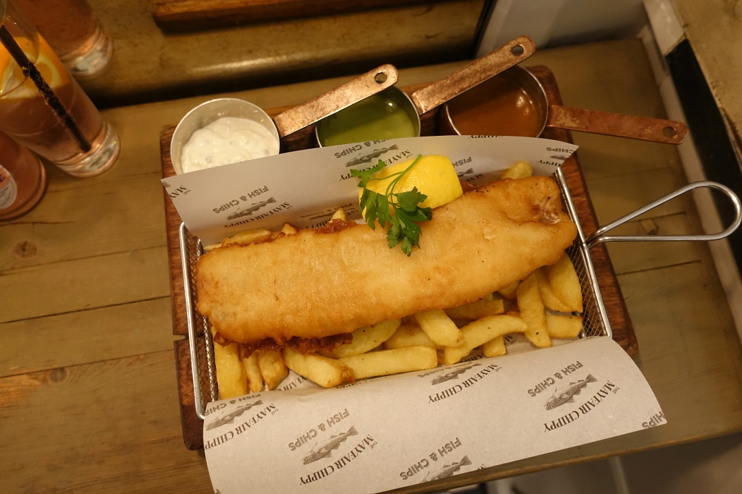 London The Mayfair Chippy Fish & Chips | joanne-khoo.com