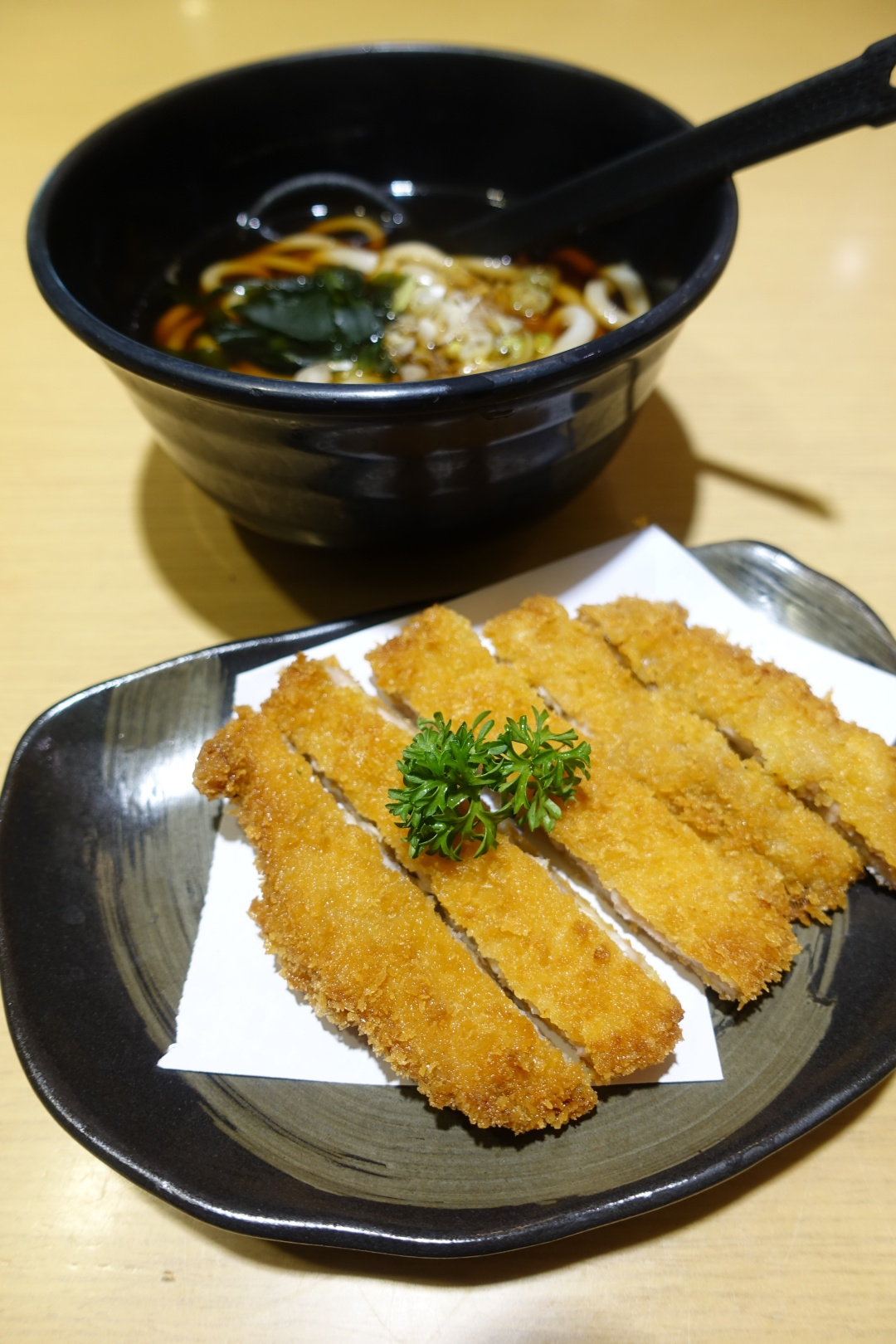 2018 Bali | Sushi Tei (Beachwalk Shopping Center) - Chicken Katsu Udon | joanne-khoo.com
