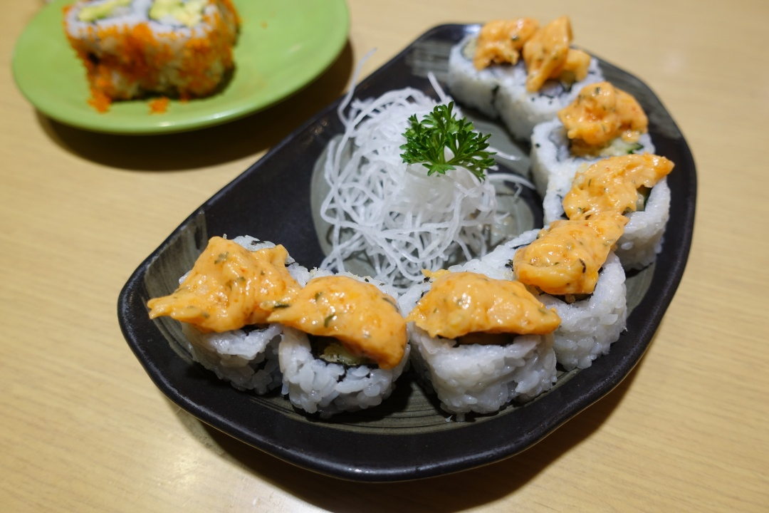 2018 Bali | Sushi Tei (Beachwalk Shopping Center) - Ebi Avocado Ebikka Maki | joanne-khoo.com