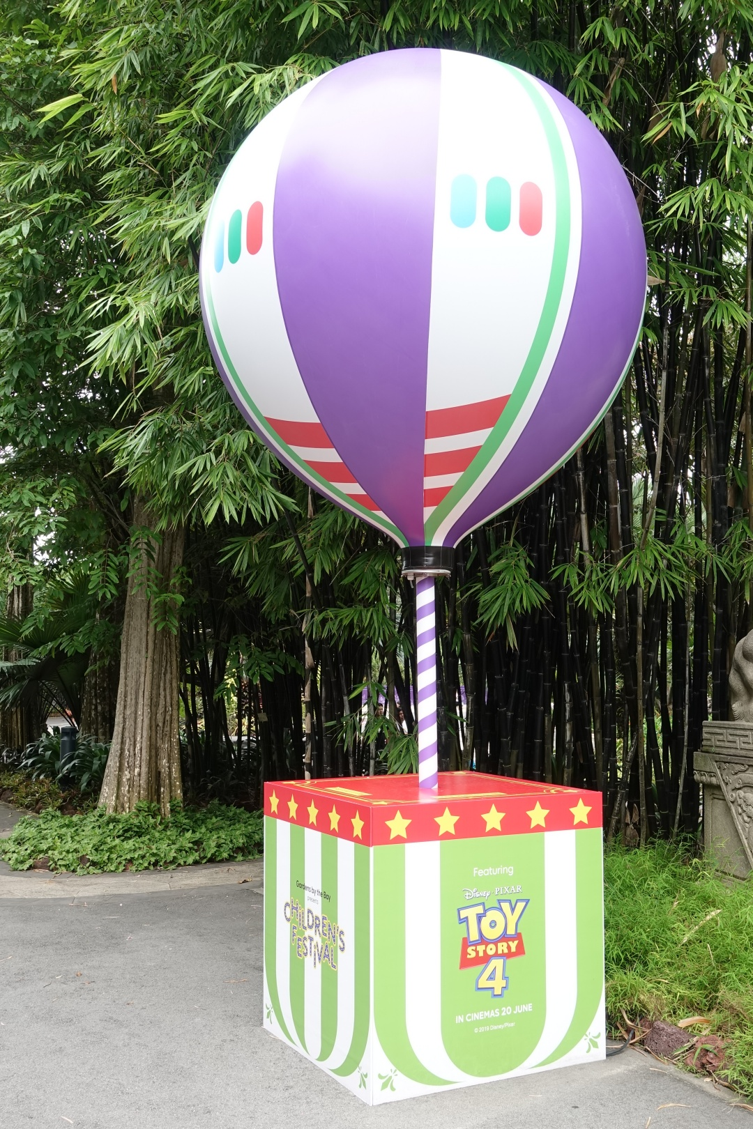 Buzz Lightyear Toy Story theme balloon at Children's Festival | joanne-khoo.com