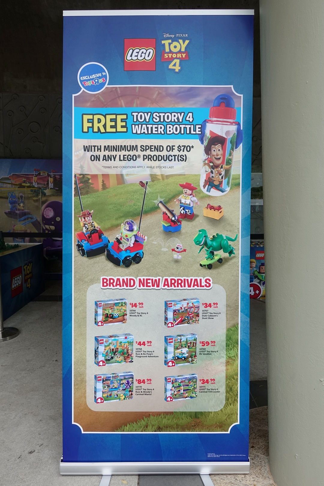 Toy Story Lego Promotion | Children's Festival at Gardens by the Bay | joanne-khoo.com