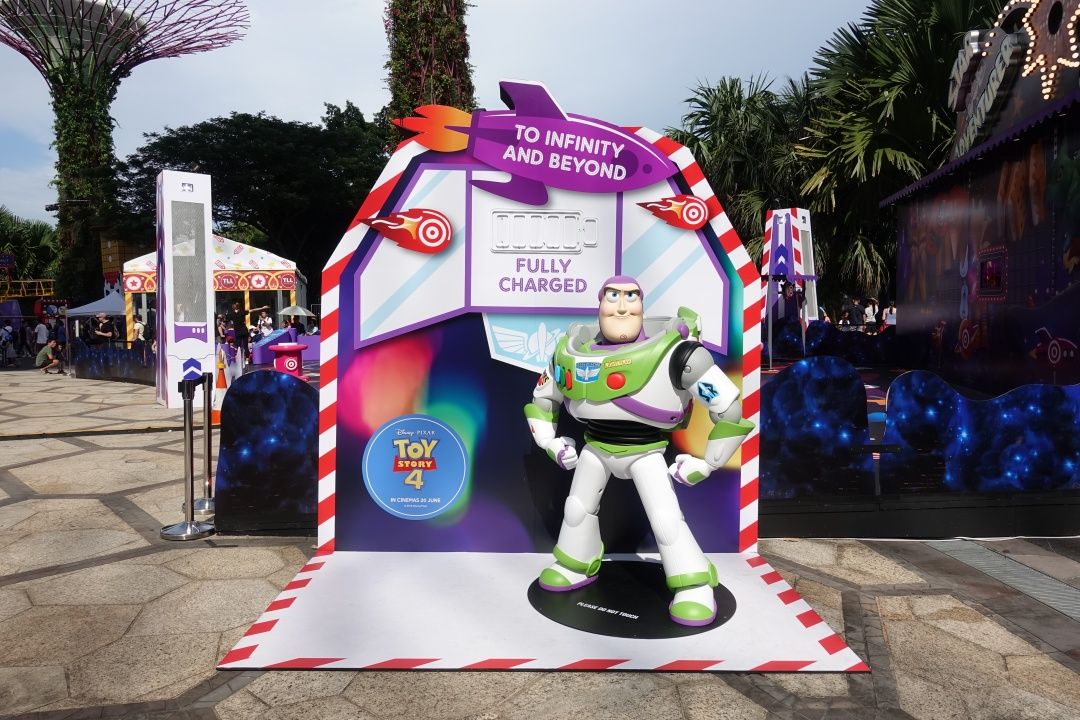 Buzz Lightyear | Children's Festival at Gardens by the Bay | joanne-khoo.com