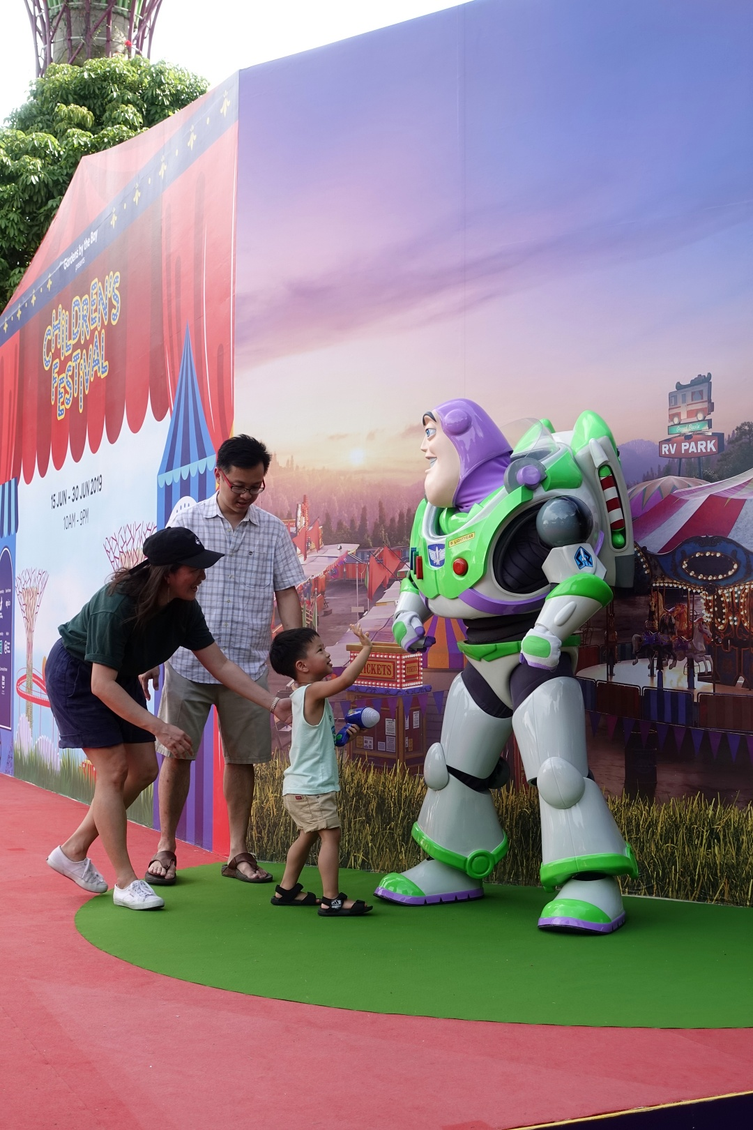 Meet-and-Greet Buzz Lightyear | Children's Festival at Gardens by the Bay | joanne-khoo.com