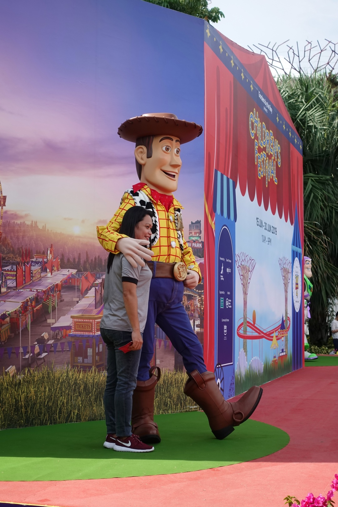 Meet-and-Greet Woody | Children's Festival at Gardens by the Bay | joanne-khoo.com