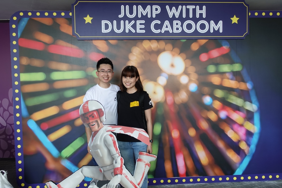 Jump with Duke Caboom | Children's Festival at Gardens by the Bay | joanne-khoo.com