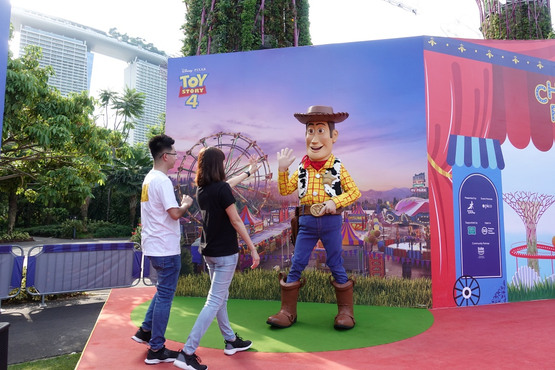 Meet-and-Greet Woody and Buzz | Children's Festival at Gardens by the Bay | joanne-khoo.com