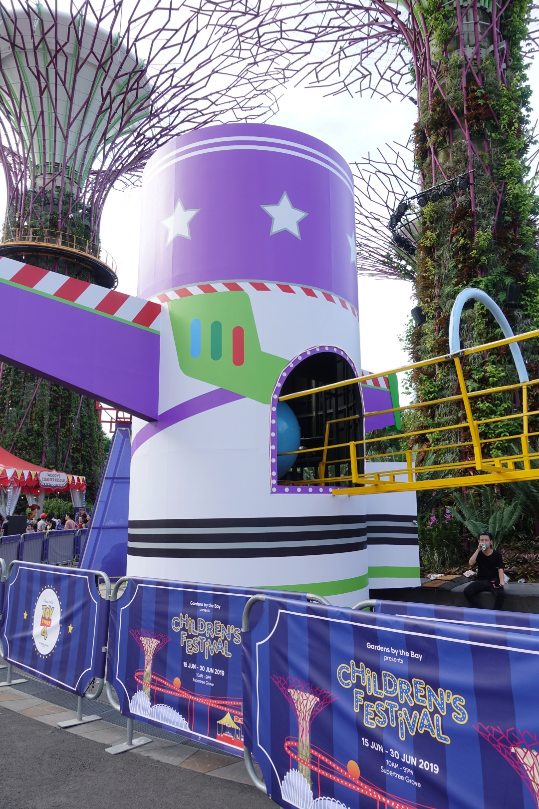 Disney and Pixar's Toy Story 4 themed Marble Run   Children's Festival at Gardens by the Bay   joanne-khoo.com