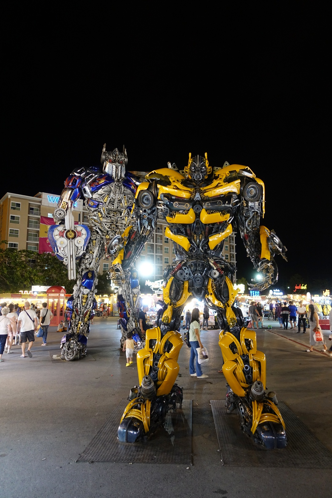 August 2018 Bangkok | Liab Duan Night Market - Transformer | joanne-khoo.com