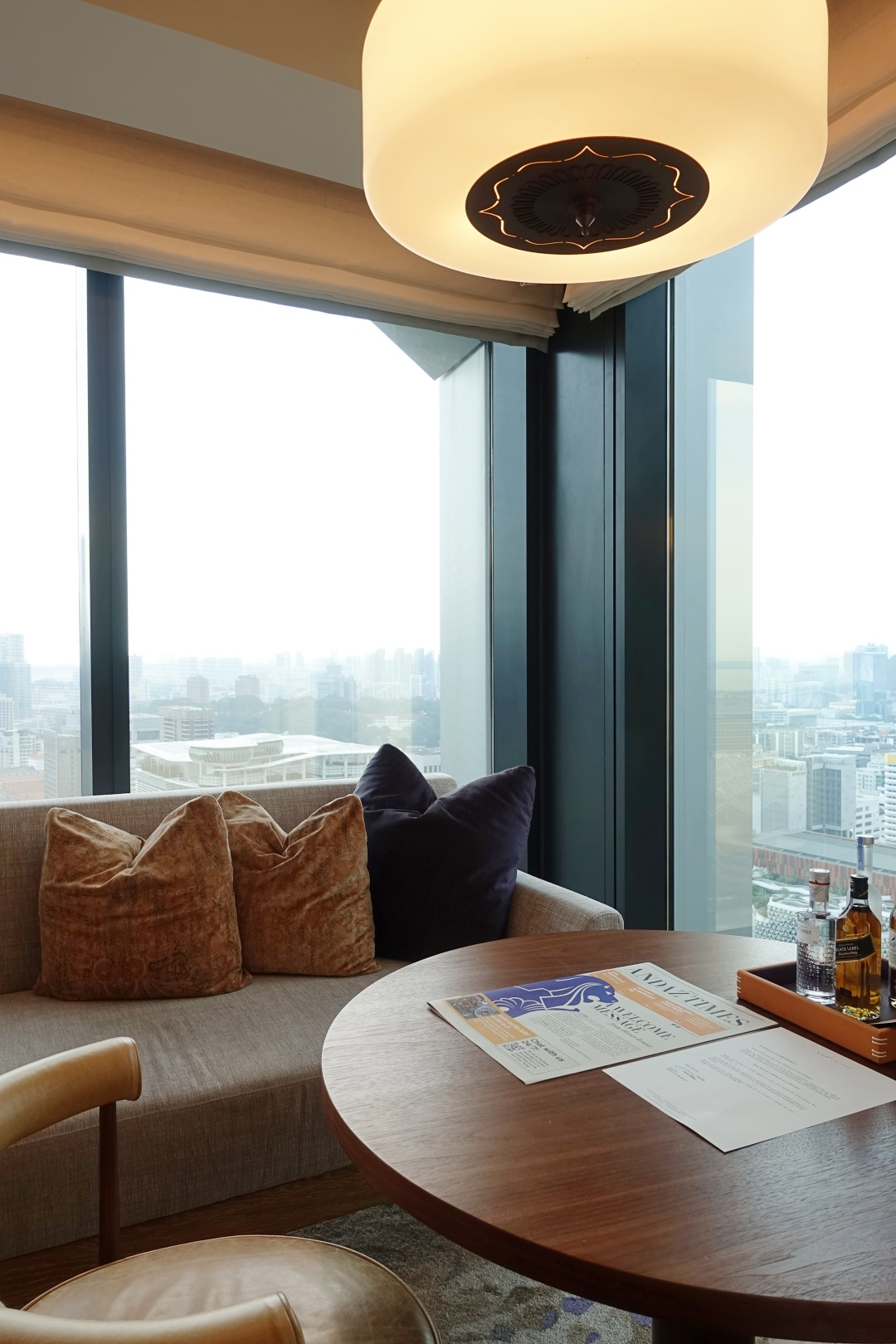 Andaz Singapore - Deluxe Room (King Bed), City View | joanne-khoo.com