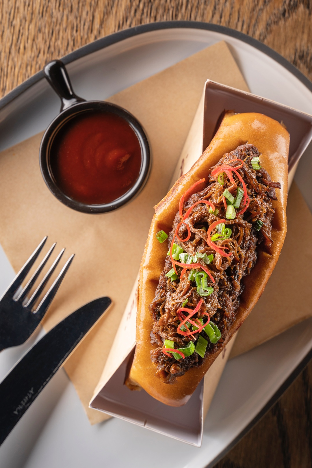 Beef Brisket Roll from Burger & Lobster | joanne-khoo.com
