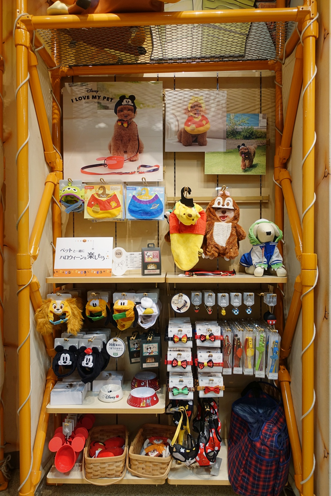 Japan Osaka Disney Store (Umeda HEP FIVE) - Disney Pet Collection | joanne-khoo.com