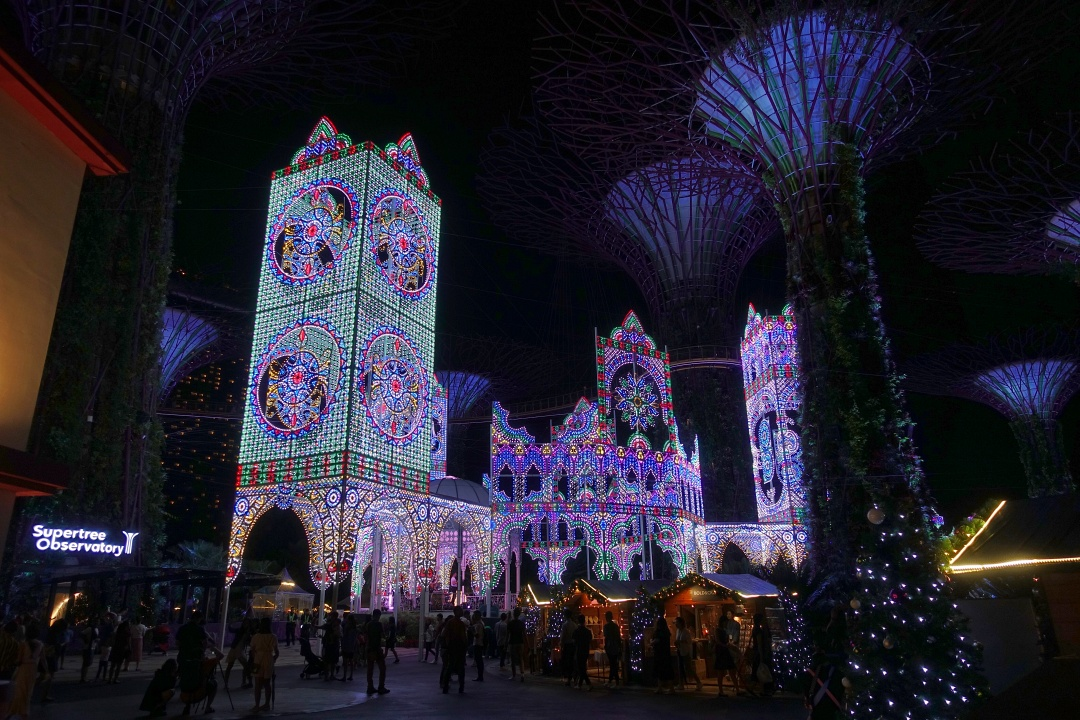 Christmas Wonderland 2019: Luminarie Light Sculptures | joanne-khoo.com