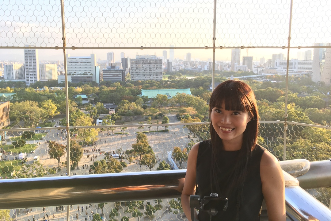 Japan Osaka Castle 8F Observation Deck | joanne-khoo.com