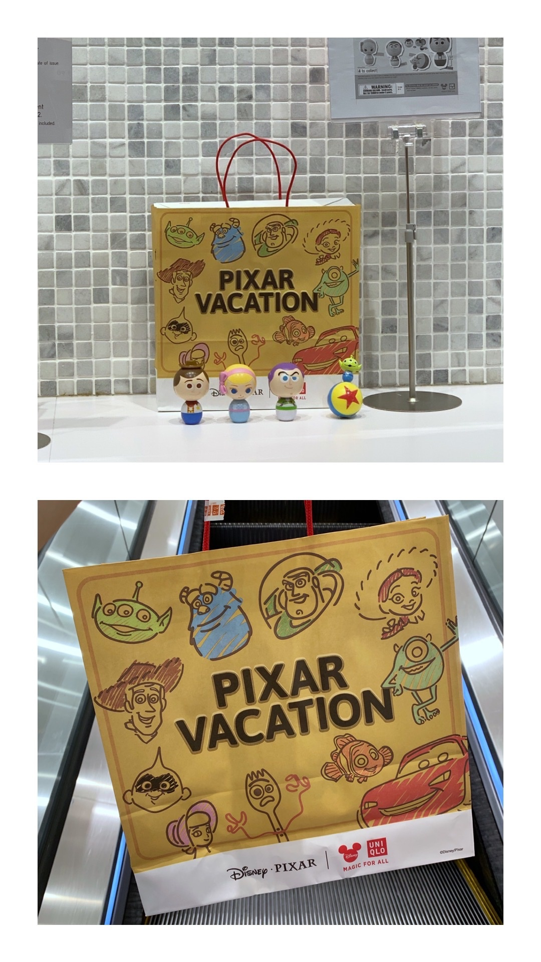 Uniqlo Pixar Vacation | joanne-khoo.com