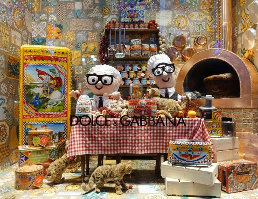 Dolce Gabbana Window Display | joanne-khoo.com