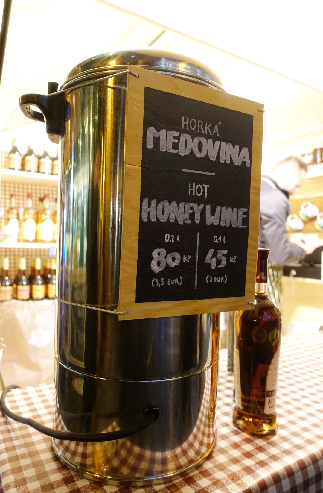 Prague Christmas Market Honey Wine | joanne-khoo.com