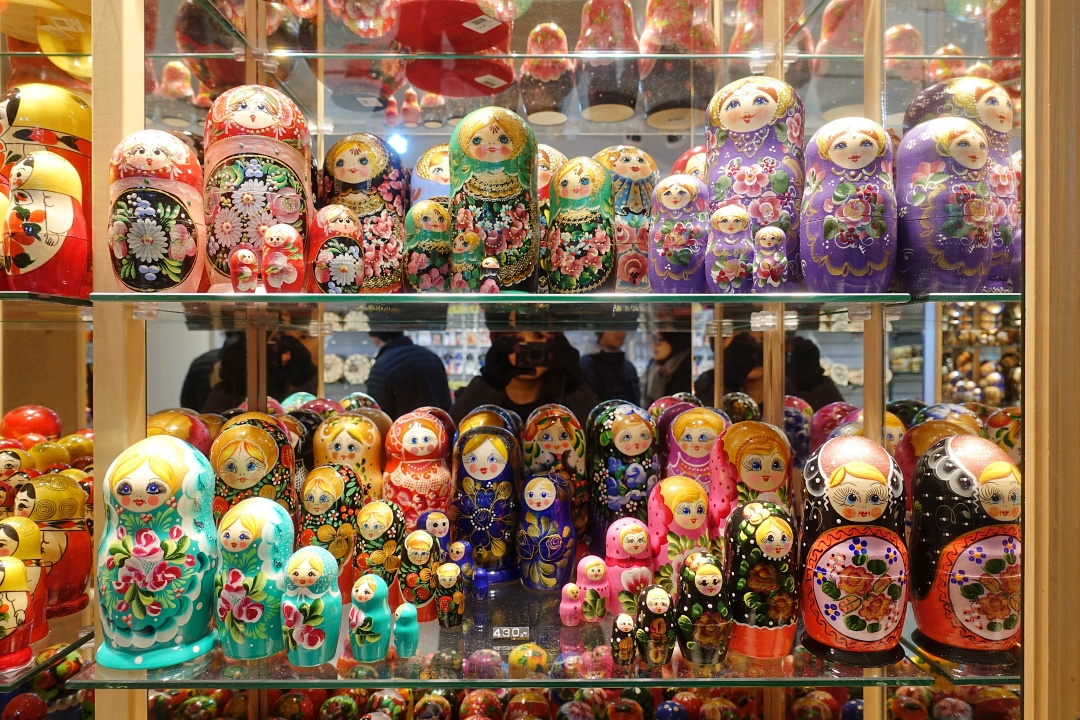 Russian Dolls in Prague | joanne-khoo.com