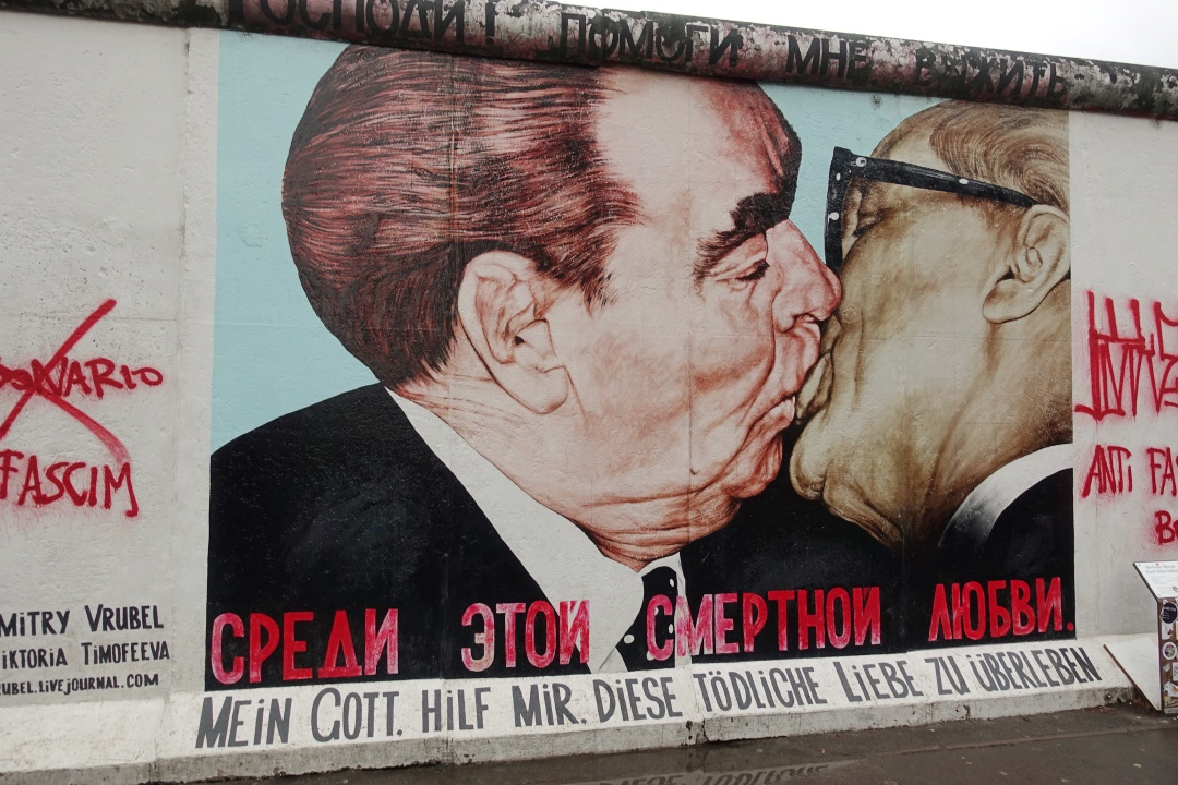East Side Gallery - Fraternal Kiss | joanne-khoo.com