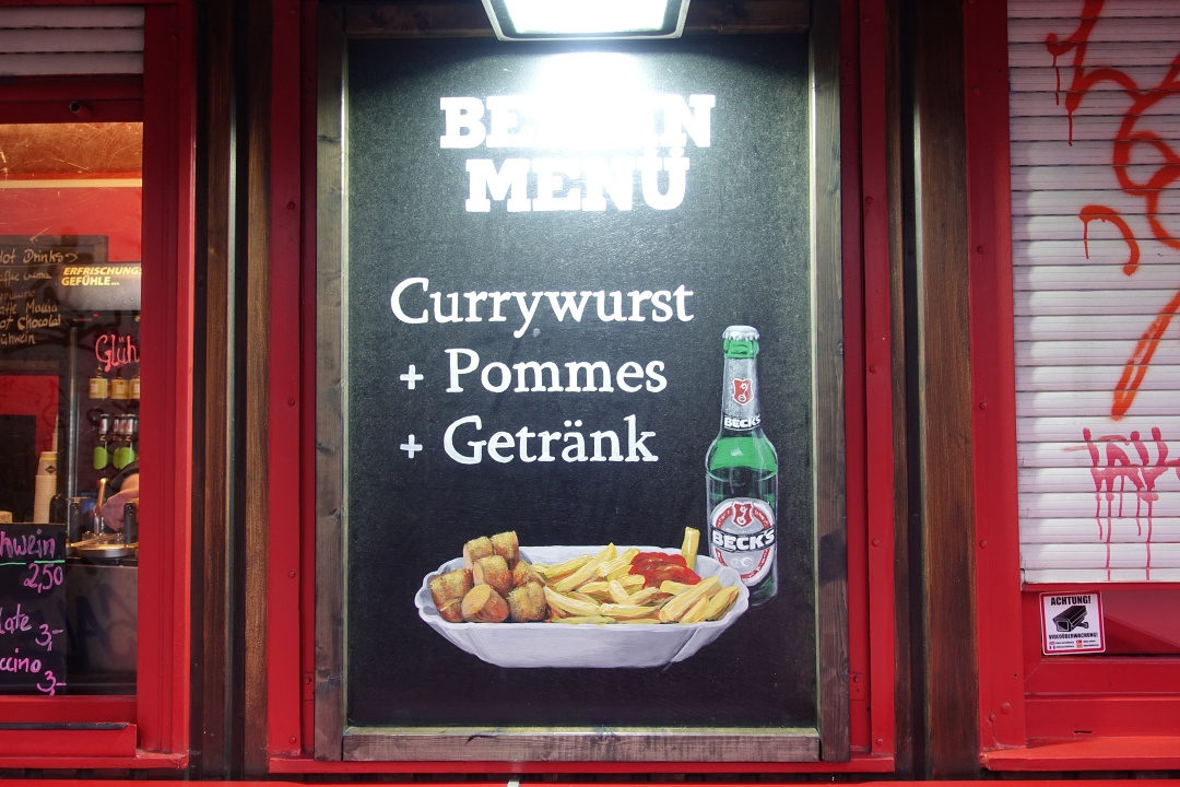 Berlin Curry-one Currywurst | joanne-khoo.com