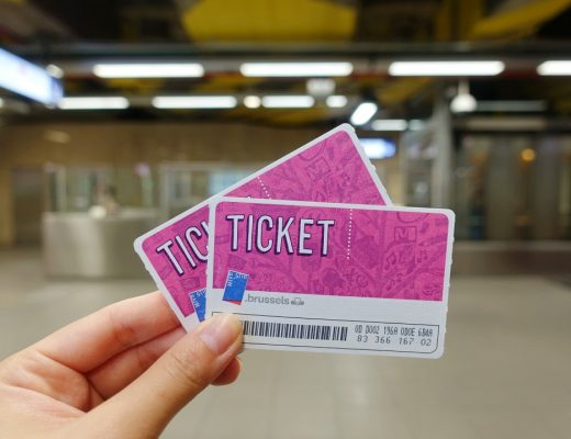Brussels 24-hour Metro Tickets | joanne-khoo.com