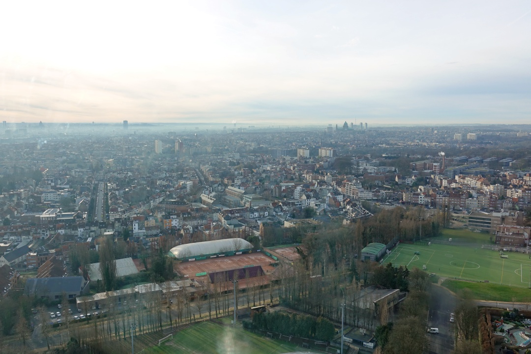 View from Brussels Atomium | joanne-khoo.com